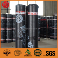 4mm Sand Cover Self Adhesive Bitumen Waterproof Roll Membrane