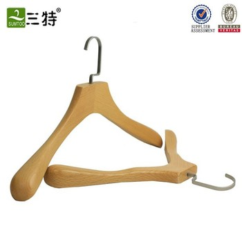 wooden hanger clothes hanging stand