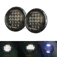 Wholesale 105W Jeep 7 Inch Led Headlight For Jeep Wrangler Off Road With DRL Function