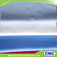 100% polyester white plain woven pants pocket lining fabric