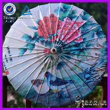 big flower high quality chinese oil paper weeding decoration leading manufacture beautiful umbrella