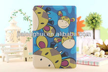 High Quality cute cartoon leather case for ipadmini