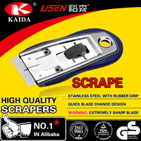 OEM razor blade steel body window glass glue cleaning scraper