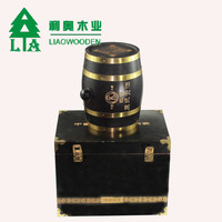 Hand Made Wooden Crate 2 Wine Bottle Travel wine Box Carrying Display Case wooden wine crate