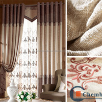2016 custom made hotel flame retardant windows curtain