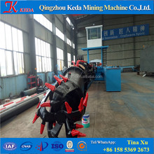 12 inch to 24 inch hydraulic sand or mud marine cutter suction dredger