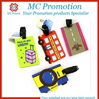 PVC Luggage Tag with Inserted Paper Sheet