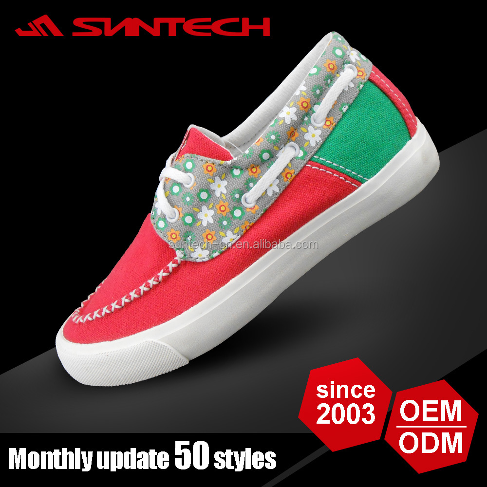 Wholesale made in china canvas shoes women