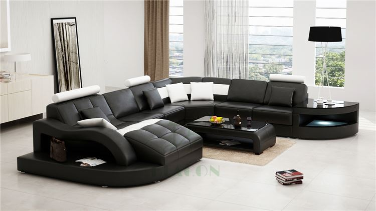Rozel Leather Wooden Carved Sofa Cum Bed In Malaysia Of India