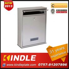 Kindle Professional waterproof cast aluminium mailbox for sale with 31 years experience