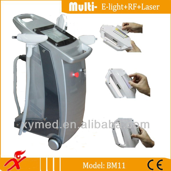 E Light Ipl Rf Hair Spot Wrinkle Pigment Removal Skin Care Skin Rejuvenation Beauty Machine/ipl/rf Hair Removal Machine-ce