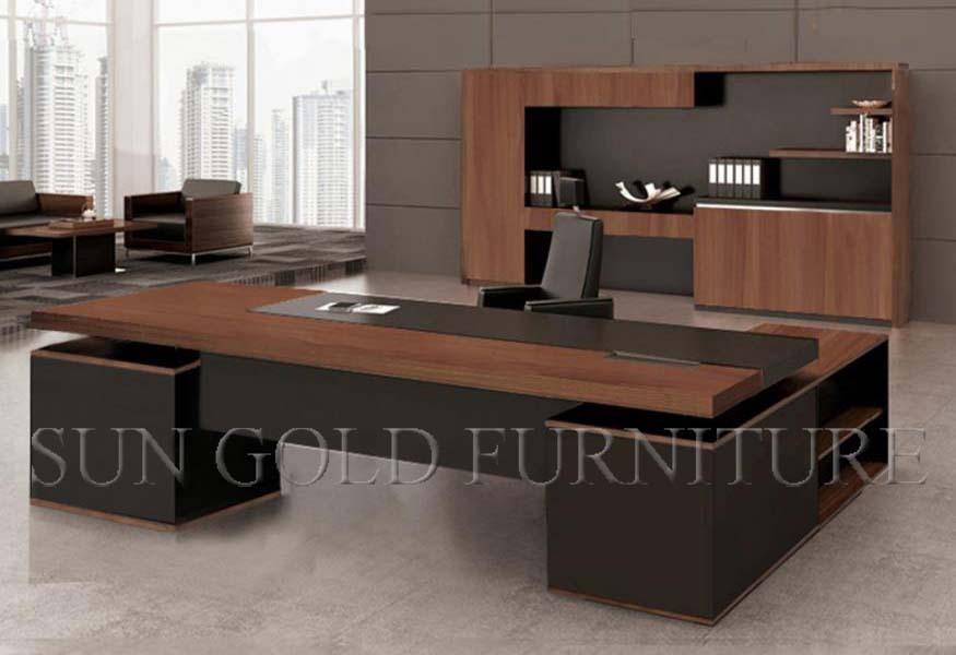 Moderne coin de luxe mobilier de bureau bureau en l sz for Mobilier bureau moderne
