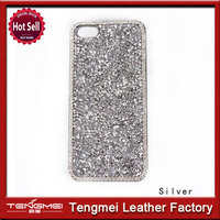 Luxury decorative Ring bling diamond cover for iphone 5 5S