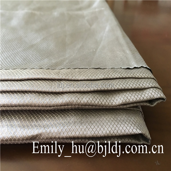 100% silver emf rf shielding fabric/ radiation shielding <strong>material</strong> diamond fabfiber radiation shielding <strong>material</strong>