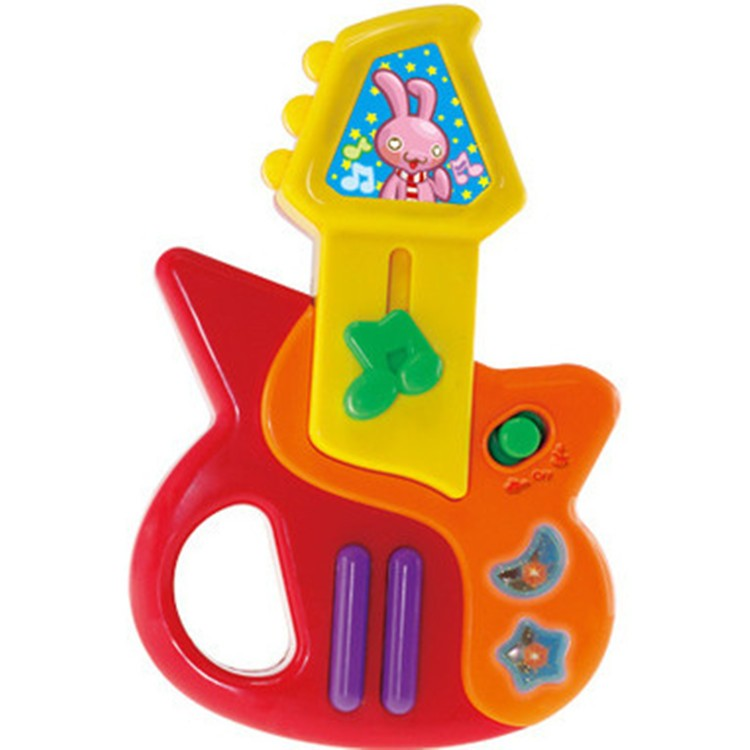 Electronic Guita Toys with Music and Colorful Lights
