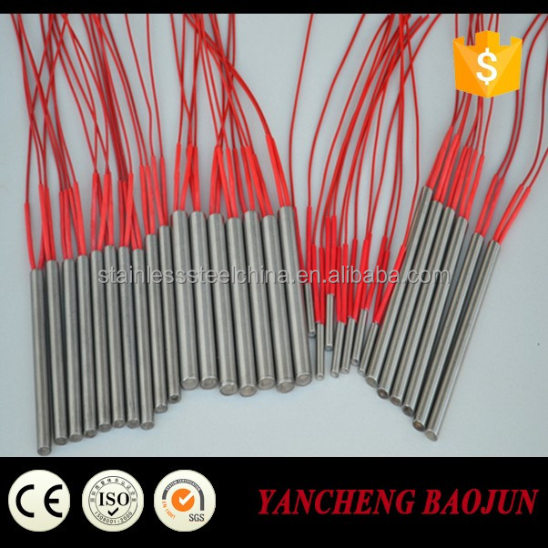 12V 120W Mold Heating Element Cartridge Heater with Thermocouple