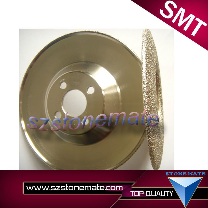 Diamond abrasive and flat shaped shaped shape diamond grinding wheel