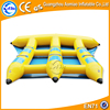 Amusing Water Park Inflatable Flying Fish Tube Floating Banana Boat for Sale