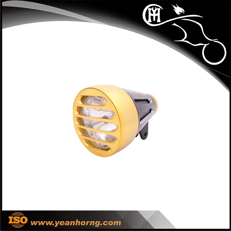 YH522 12w led work light 75w drl led headlight headlight glass lens