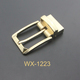 China Custom Gold Zinc Alloy Metal Pin Belt Buckle