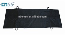 Black Funeral Corpse body bag for the dead