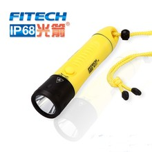 18650 rechargeable led flashlight professional diving torch