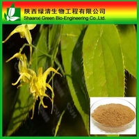 Manufacture 10% 20% 40% 50% 80% 90% 93% Epimedium P.E./ Horny Goat Weed Extract/High Quality 98% Icariin Powder
