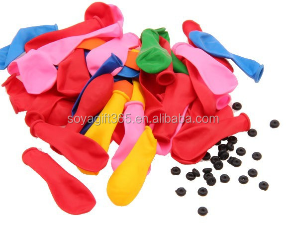 Refill Packs Colorful Balloons With Rubber Band For Magic Bunch O Water Balloons Accessories