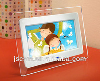 Good quality 7inch LCD electronic media player, digital picture frame, ad player