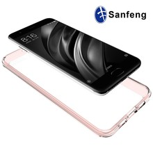 For Xiaomi Mobile Phone Case Clear TPU Acrylic Antiscratched Case For Xiaomi MI 6