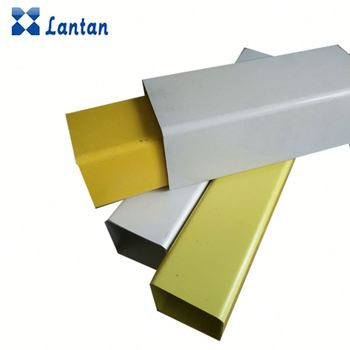 Competitive price cheapest plastic pvc square rectangular pipe for Warning pile
