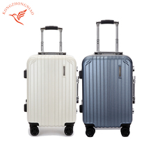 cute professional travel duffel hard case luggage with wheels