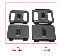 4 in 1 backdoor set waterproof case housing shell backdoor with mount hole open backdoor with mount for GoPro Hero 4/3+/3/2/1