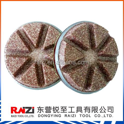 3 inch Ceramic bond Concrete floor Dry polishing pads/3 inch Ceramic Bond Transitional Polishing Pad with high quality