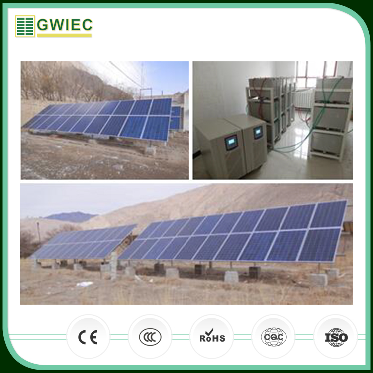 GWIEC Alibaba Best Sellers On Grid 5Kw Inverter Solar Power System For Home For Pakistan