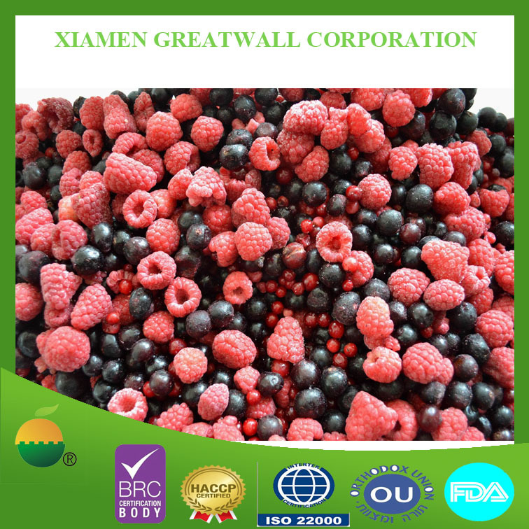 2015 crop frozen mixed berry /fruits