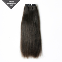 VV Hair Product Single Drawn 112g/pc 100% Virgin Human Hair Weaving Straight Brazilian Hair China Supplier