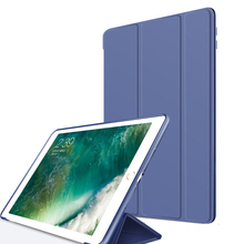 Slim lightweight tri-fold stand cover silicone tpu tablet case for Apple ipad mini 1st,2nd and 3rd generation