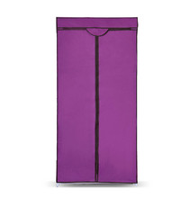 Space save free standing bedroom wardrobe door