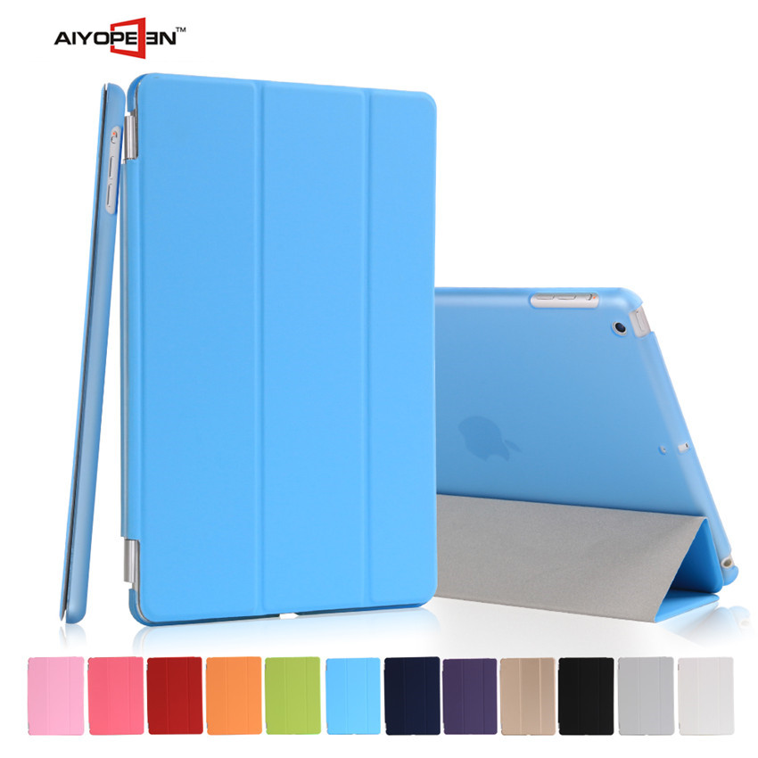 2015 Hot Smart Cover Case For iPad mini 1/2/ 3 Retina wake-up sleep threeFold PU Leather Stand Protective