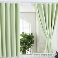 Classic light color security curtains for windows