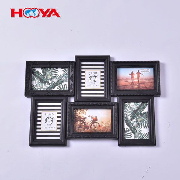 home decoration plastic combination wall photo frame