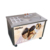 Movable stirring ice machine square single pan fried ice cream roll machine