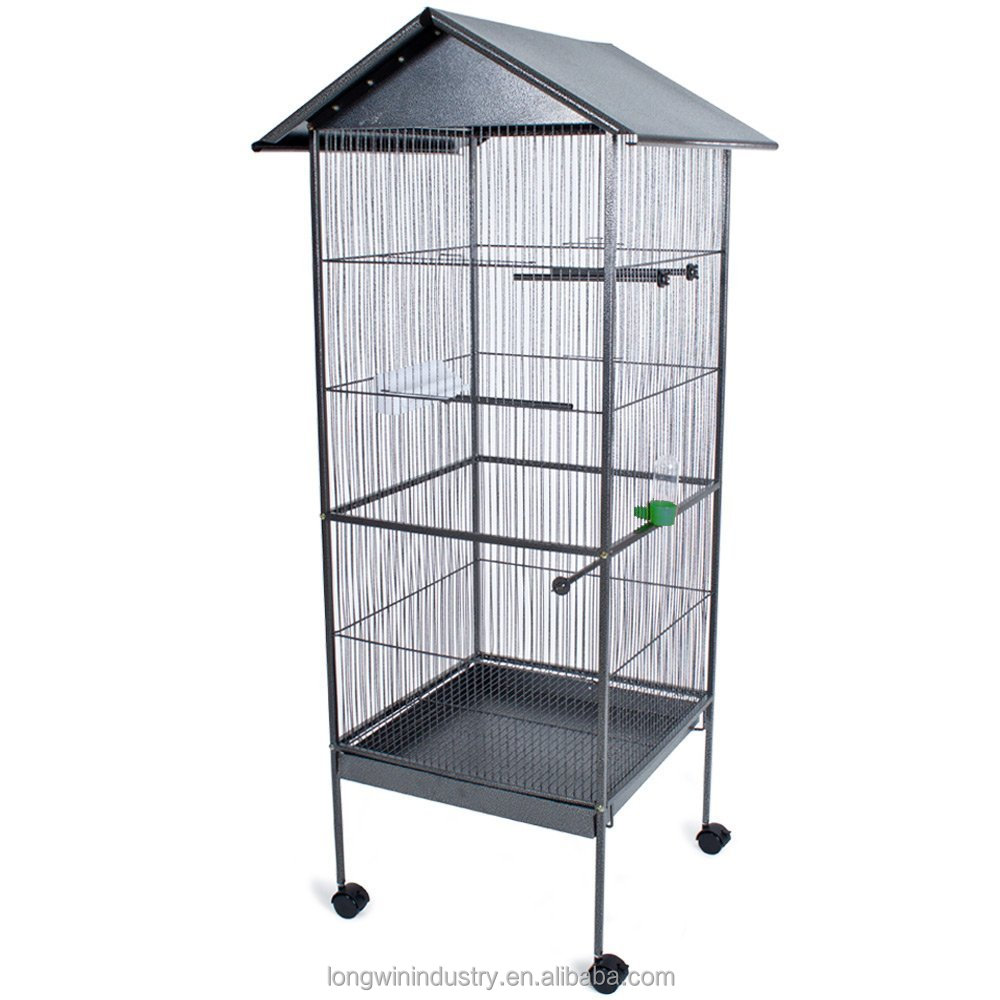 Large Wire Mesh Pet Parrot Bird Cage