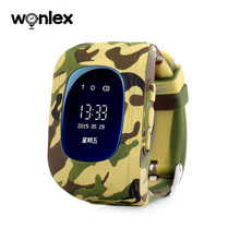 Wonlex china new color kid watch battery Q50 gps kid tracker watch