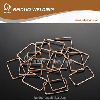 Rectangle welding Brazing Rings