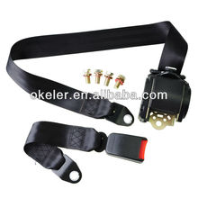 Universal 3 Point Adjustable Retractable AUTO Car Seat Belt