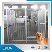 Welded And Square Tubing Dog Kennels