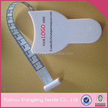 Funny white medical tape measure