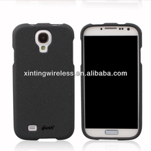 Front And Back Rubber Matte quicksand plastic Hard back Hard back Case Cover for samsung galaxy S4